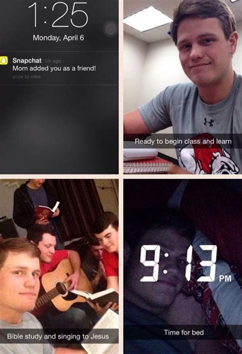 6 Priceless Times Snapchat and Jesus Were Brought Together