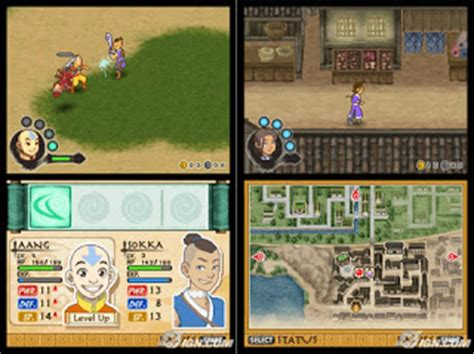 Avatar The Last Airbender The Burning Earth DS ROM