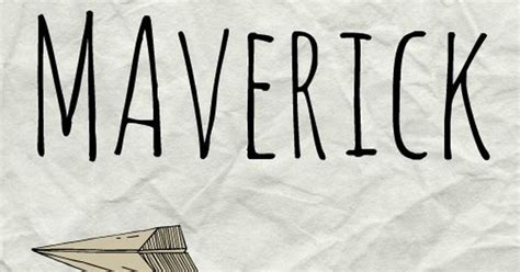 Maverick: Meaning, origin, and popularity of the name